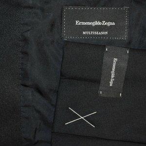 NWT $2595 40R Ermenegildo Zegna CURRENT Black COAT